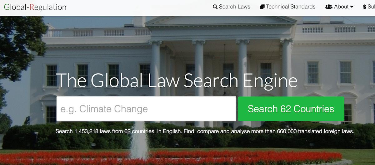 Screenshot (high-res) of Global-Regulation.com